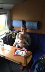 Kleinkindabteil DB – Mit Baby im Zug