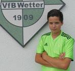 Captain Niko Gehrmann traf mit wuchtigen Freistoß zum 2:0