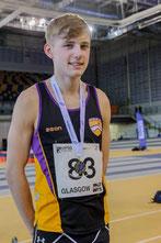 Under-17 Scott Brindley, in at No. 92, photo: Bobby Gavin
