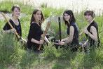 La Merula Quartett 2017 - Aline Arman, Maria Hänggi, Anja Margarita Kaufmann, Nicole Meule