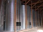 Bio-Getreid-Silo auf Gut Edlau im Bau 2014