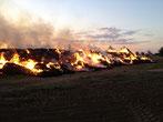 Brandstiftung des Stroh-Diemens in Gröbzig