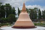 Phra Pathom Chedi Nakhon Pathom,gilt mit 120 m als die höchste Pagode der Welt