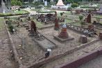 Wat Maha Thart Ayutthaya die frühere Hauptstadt von Thailand