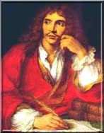 Charles-Antoine Coypel, Portrait de Jean-Baptiste Poquelin dit Molière