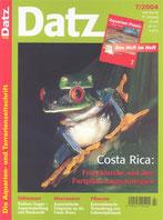 Erfolgreiche Froschwels-Nachzucht im Aquarium, D. Aqu. u. Terr. Z. (Datz) 57 (7) Wolfgang Ros