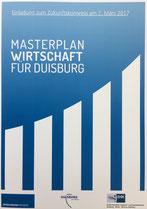 Zukunftskongress Masterplan Wirtschaft Duisburg Unternehmerverband IHK Niederrhein Düsseldorf Mercatorhalle Mülheim
