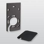 Distanzset cryplock DZS R/K-MD (DB-703 Eisenglimmer) von Telenot; presented by SafeTech