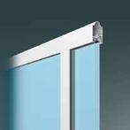 Doppelverglasung transparent Alu Sektionaltor