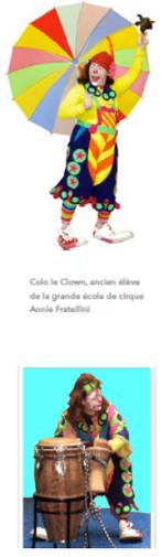 clown magicien animateur anniversaire