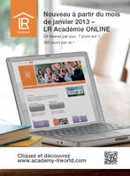 Académie gratuite de formation avec LR, hotel offert par LR