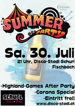 Summer Party 2016 Disco-Stadl Schurl