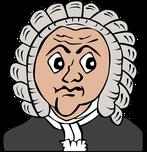Anwalt in Perücke!