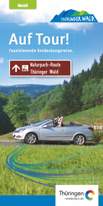 Download: Faltblatt zur Naturpark-Route Thüringer Wald