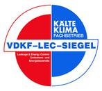 VDKF-LEC-Siegel - Leakage & Energy Control - Leckage- und Energiekontrolle - Kälte Klima Fachbetrieb