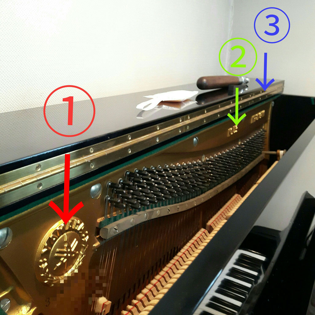 こちらはYAMAHA(旧日本楽器)U3