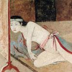 朱色の肌と日本の女