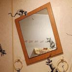 『浴室で悪夢を引き起こすネズミ』