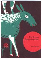 Bremer Stadmusikanten, Illustration Katrin Stangl
