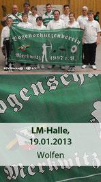 LM-Halle am 19.01.2013 in Wolfen