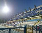 Stadion Osijek Kroatien Flutlicht Fußball