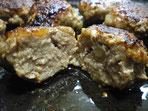アツアツごちそう鉄板で焼くハンバーグ
