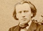 Der Komponist und Musiker Johannes Brahms