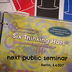 Six Thinking Hats | Edward de Bono | public seminar | Berlin | 6.4.2017