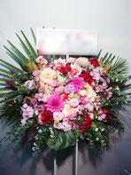 スタンド花・ロビー花(フラスタ)有楽町朝日ホールにお届け。おすすめのボリュームです。