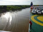 Fahrt am Rio Parana
