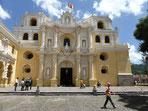 Die Kirche La Merced - sehr schön renoviert