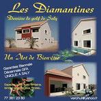 Résidence Les Diamantines à Saly - Recto verso format 15x15cm