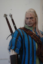 Importend life-like mannequin from The Witcher 2