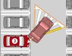 バック駐車時は、ハンドルの切れ幅が大きい~バックで駐車する方が効率が良い