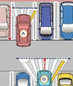 バック出と前進出の違い ~バック出はハンドルの切れ幅は少ない