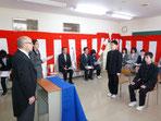 北日本高等専修学校 入学式