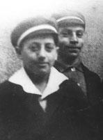 Josef Bienstein (rechts) und Adolf Weinberg (Foto: Sammlung E. Sternberg-Siebert)
