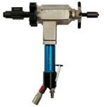 Pneumatic portable pipe beveling machine