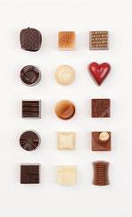 Friandises - sans sucres - chocolat - Corné Dynastie