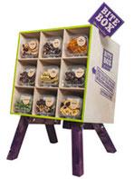 Das Flaggschiff der Bitboxer: Eine große Kiste voller Nüsse für alle