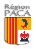 STICKERS PLAQUE IMMATRICULATION REGION PACA