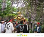 千囃連さん:銚子妙見宮 ふじ祭り