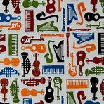 Florentiner Papier: Musikinstrumente