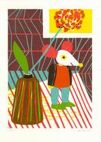 Heike Herold, Siebdruck, Illustration, Grafik