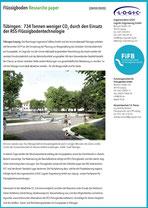 28.05.2020  Tübingen: 734 Tonnen weniger CO2 durch den Einsatz der RSS-Flüssigbodentechnologie