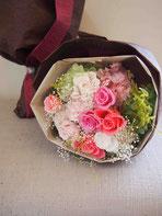 プリザーブドフラワー,花束,結婚式両親贈呈