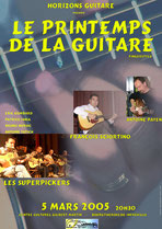 Printemps de la guitare 2005