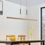 LUCANDE LED-Holz-Lampe