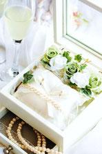 リングピロー 宝石箱