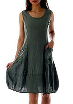schoenes Kleid Sommerkleid Leinen billig test erfahrungen kaufen meinungen vergleich online bestellen sparen schnaeppchen guenstig tipps